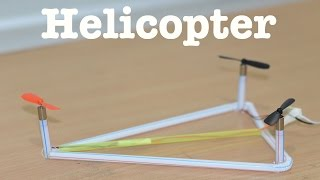 How to Make a Helicopter  - Tricopter