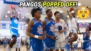 OH NAH 😱 Cassius Stanley, Josh Christopher & Isaiah Todd Got BOUNCY At Pangos All-American Camp!