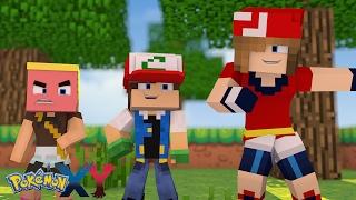 Minecraft: Pokemon X Y - FILHO DO ASH E MAY ESTAO JUNTOS #52