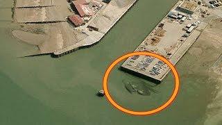 10 أشياء مخيفة تم العثور عليها على خرائط جوجل ...!