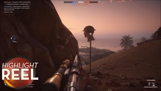Highlight Reel #247 - Battlefield 1 Sniper Perfectly Fakes Out Enemy