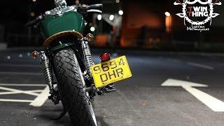 Suzuki gz 125 Bobber by www.twinthing.co.uk