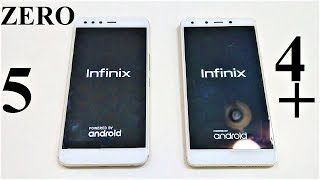 Infinix ZERO 5 vs Infinix ZERO 4 Plus - SPEED TEST