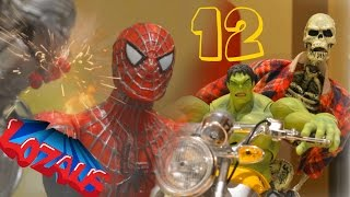 SPIDERMAN STOP MOTION Part 12 CIVIL WAR