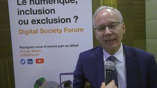 Orange Digital Society Forum : Interview avec Bachir Rachdi, membre du CESE