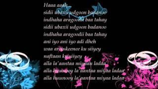 Kaltuun Bacado Alam Dheh Lyrics (Best Somali Wedding Song)