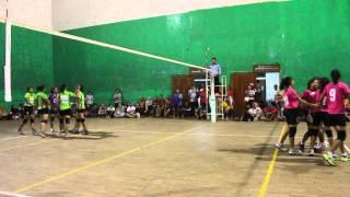 Piala Silva's Bandung Tectona 2013 Ananta Volley Ball Club VS JVC Part 1