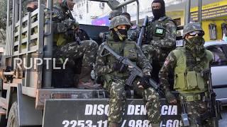 Brazil: At least 14 killed in military crackdown on Rio de Janeiro drug gangs