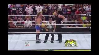 WWE Summerslam 2013: Dean Ambrose vs Rob Van Dam for the US Championship