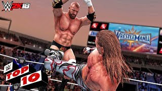 WWE 2K18 Top 10 Amazing Mid-Air Finishers!
