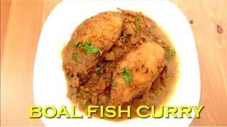 BOAL MACHER JHAL - Wallago Fish Curry