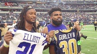 """NFL """"Jersey Swaps"""""""