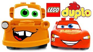 LEGO Duplo 10857 Piston Cup Race Cars 3 Playset Rewiew with Mater