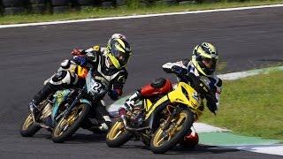 Đua xe mô tô chuyên nghiệp lần đầu tiên tại Việt Nam có cua trái và cua phải