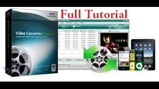 Wondershare Video Converter full tutorial (Bangla)