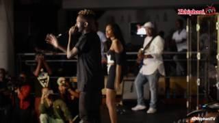 Kwesta & Thabsie perform Ngiyaz'fela ngawe' with a live band