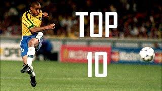 Roberto Carlos ● Top 10 Free Kicks