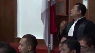 permohonan tidak di borgolnya sutarjo sudarmono dikabulkan majelis hakim (26042016)
