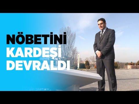 Borsa İstanbul'da 15 Temmuz şehidinin nöbetini ağabeyi devraldı