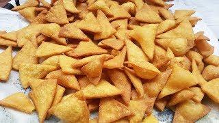 شيبس الذرة ( دوريتوس ) المنزلية بطريقة سهلة وسريعة ولذيذة جربوها Corn chips ( الحلقة 138 )