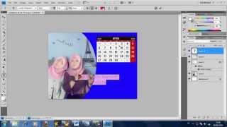 Cara Membuat Kalender Cantik Dengan Photoshop