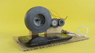 Free Energy Mobile Charging Self Running Generator With Magnets at Home