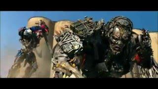 tranformers 4 combats final optimus prime vs lockdown [FR]