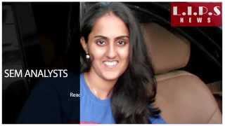 L.I.P.S. INDIA Reviews - Congratulations, Kajal Varma  - LIPS Digital Marketing Student