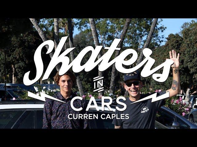 Skaters In Cars: Curren Caples | X Games