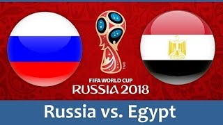 Russia vs Egypt Highlights