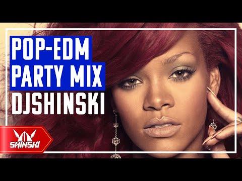 Best of POP EDM Party Workout Mix Dj Shinski Rihanna Chris Brown Pitbull Calvin Harris Avicii