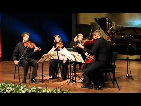 music concert report piano quintet