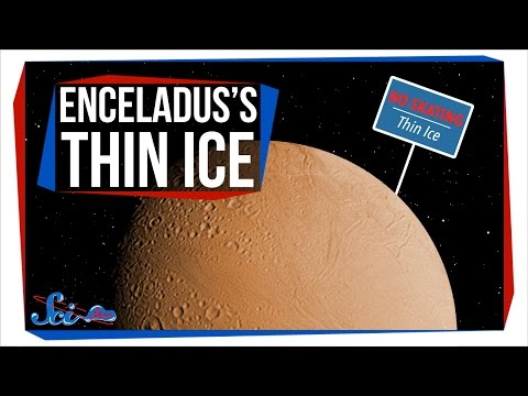 Enceladus s Super Thin Ice