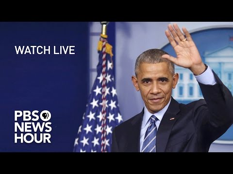 WATCH LIVE President Obama s Final Press Conference