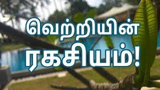 Secret of Success | Tamil Inspirational Stories | Hisham.M