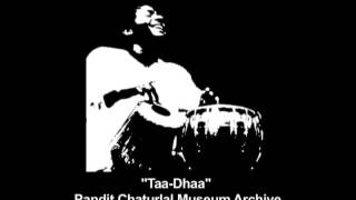 Jai Taal 13 Beat Rhythm Cycle   Tabla Solo By Pandit Chatur Lal