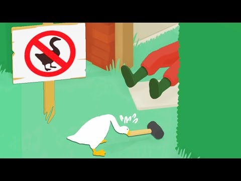 Committing As Many Felonies As Possible in Untitled Goose Game