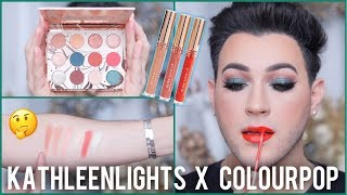 KATHLEENLIGHTS x COLOURPOP DREAM COLLAB HONEST AF REVIEW!