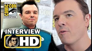 THE ORVILLE Exclusive Seth MacFarlane & Cast Interviews - #SDCC 2017