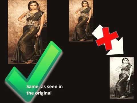 Bollywood shraddha kapoor hot belt saree