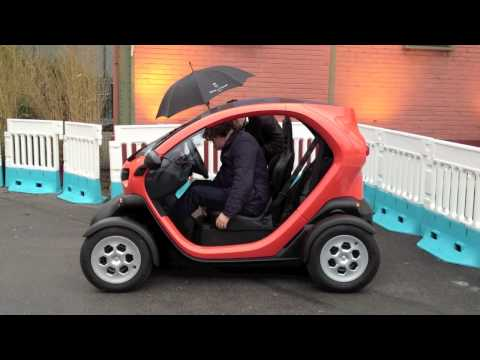 Test Driving the Renault Twizy