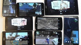 Как GTA San Andreas идет на Nexus 5, Xperia Z1, Note 3, Meizu MX3, LG G2