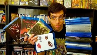 My Blu-Ray Collection Update 5/7/16 Blu ray and Dvd Movie Reviews