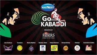 Navneet GO KABADDI Season 1 By Risers -Match Day 1