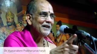 Mahabharata War - Righteous One? - Dr. Vyasanakere Prabhanjanacharya