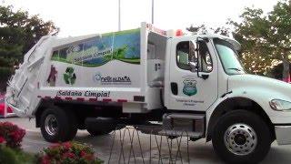 Carro compactador de basura