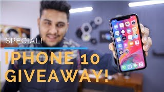 iPhone 10 Unboxing + Giveaway - Surprise