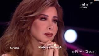 شيرين عبد الوهاب تتالقة باغنية كدة ياقلبي ياحتة مني في ارب ايدل Arab Idol  2017
