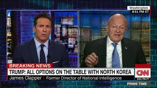 James Clapper: I agree with Steve Bannon on North Korea