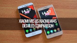 Xiaomi Mi5 vs Xiaomi Mi4S-  Detailed Comparison